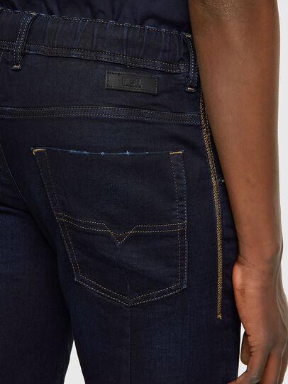 Diesel - D-KROOSHORT JOGGJEANS, Dark Blue - Shorts - Image 3