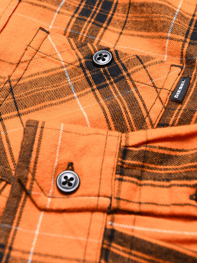Diesel - COIZE, Orange/Black - Shirts - Image 3