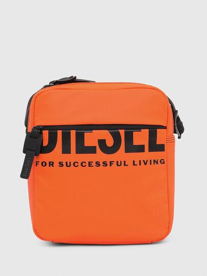 Diesel - DOUBLECROSS, Orange - Crossbody Bags - Image 1