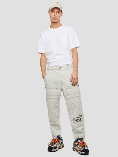 Diesel - T-JUST-POCKET-T17, White - T-Shirts - Image 5