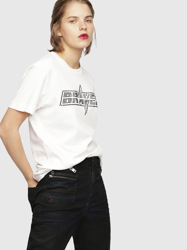 Diesel - T-FLAVIA-Y, White - T-Shirts - Image 1