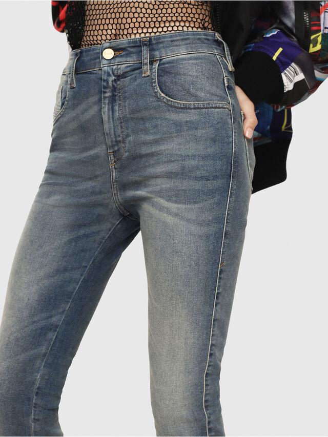 Diesel - Slandy High 085AZ, Medium blue - Jeans - Image 3