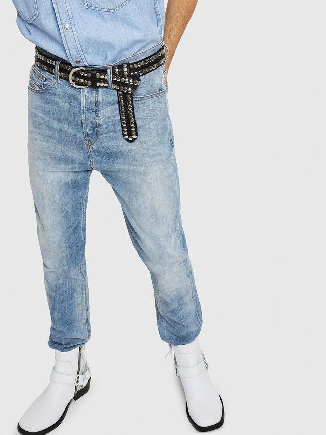 Diesel - D-Vider 081AL, Light Blue - Jeans - Image 4