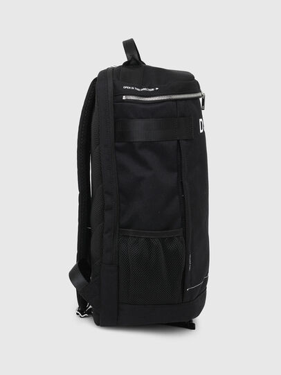 Diesel - PIEVE ZP, Black - Backpacks - Image 3