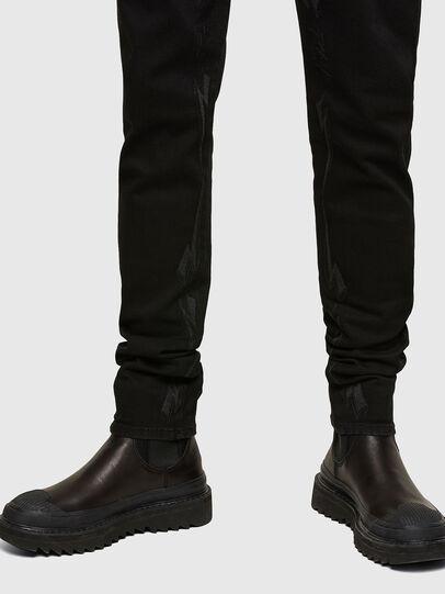 Diesel - D-Istort 069TI, Black/Dark grey - Jeans - Image 3
