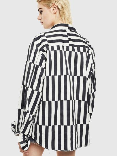 Diesel - S-JESSY-B, White/Black - Shirts - Image 4