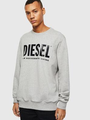 S-GIR-DIVISION-LOGO, Grey - Sweaters