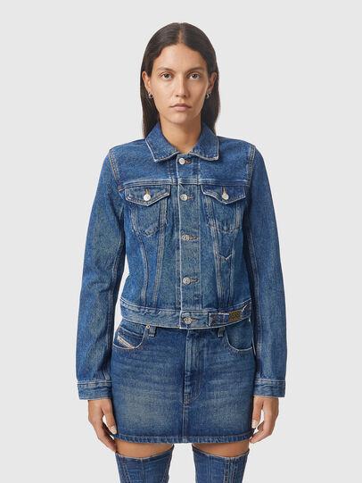 Diesel - DE-LIMMY, Medium blue - Denim Jackets - Image 1