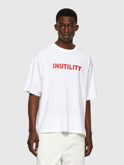 Diesel - T-BALM-B1, White - T-Shirts - Image 1