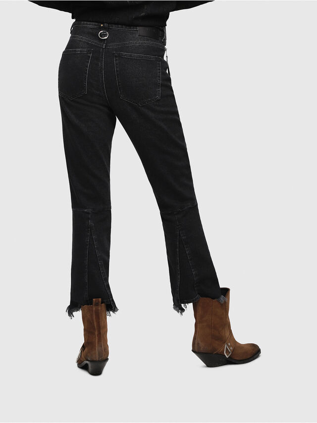 Diesel - D-Earlie 080AP, Black/Dark grey - Jeans - Image 2