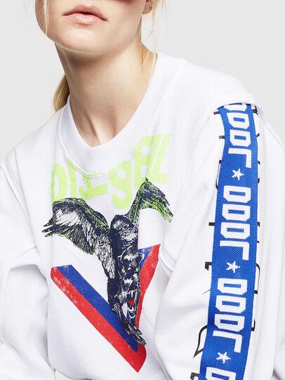 Diesel - F-LYANYDY, White - Sweaters - Image 3