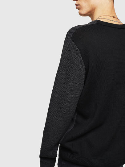 Diesel - K-HALF, Black - Knitwear - Image 5