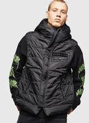 W-SUN-REV-SLESS, Black - Winter Jackets