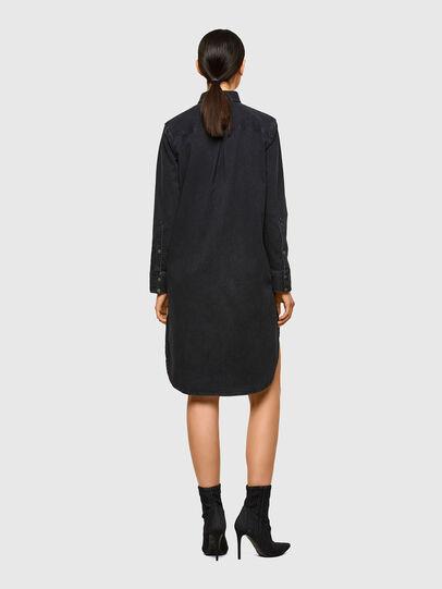 Diesel - DE-BLANCHE, Black - Dresses - Image 2