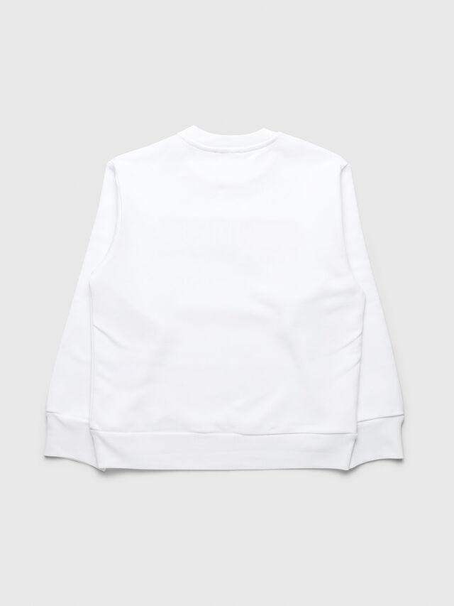 Diesel - UN-K-SCREWDIVISION-B, White - Sweaters - Image 2