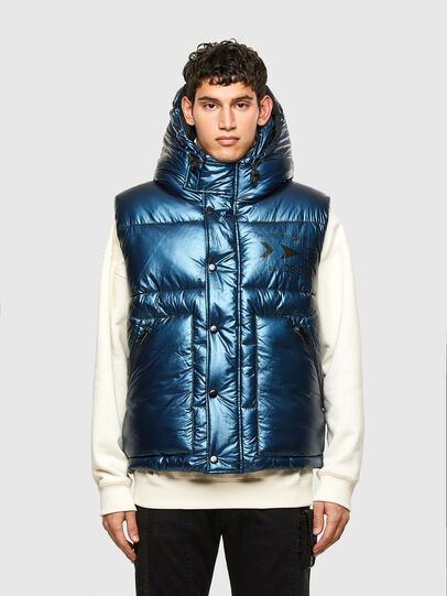 Diesel - W-SELLERS, Blue - Winter Jackets - Image 1