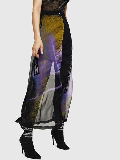 Diesel - O-POPLIA, Black - Skirts - Image 1