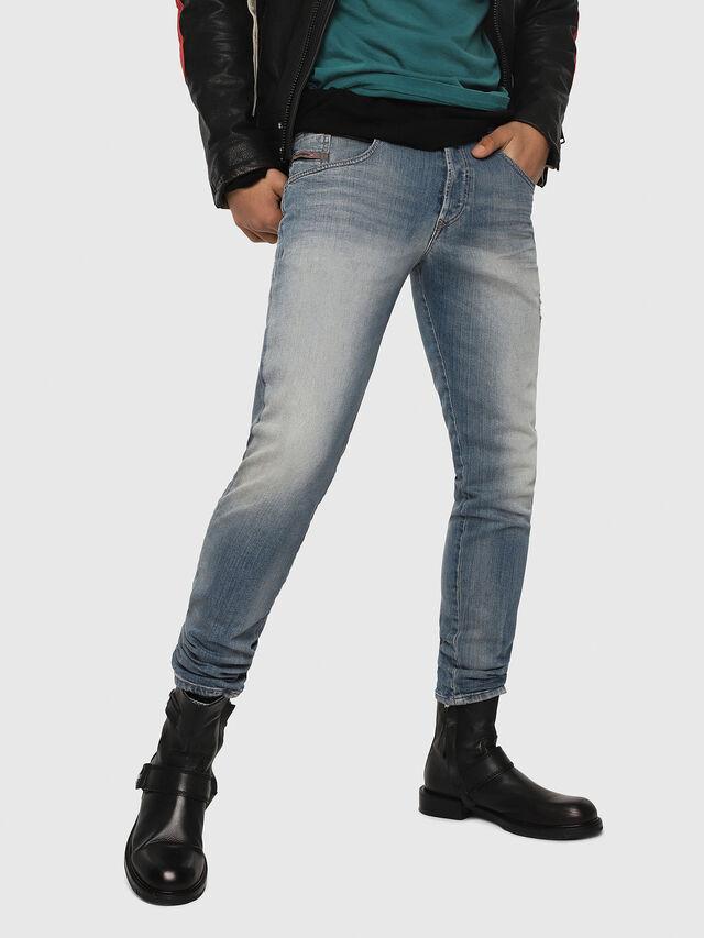 Diesel - D-Bazer 081AP, Light Blue - Jeans - Image 1