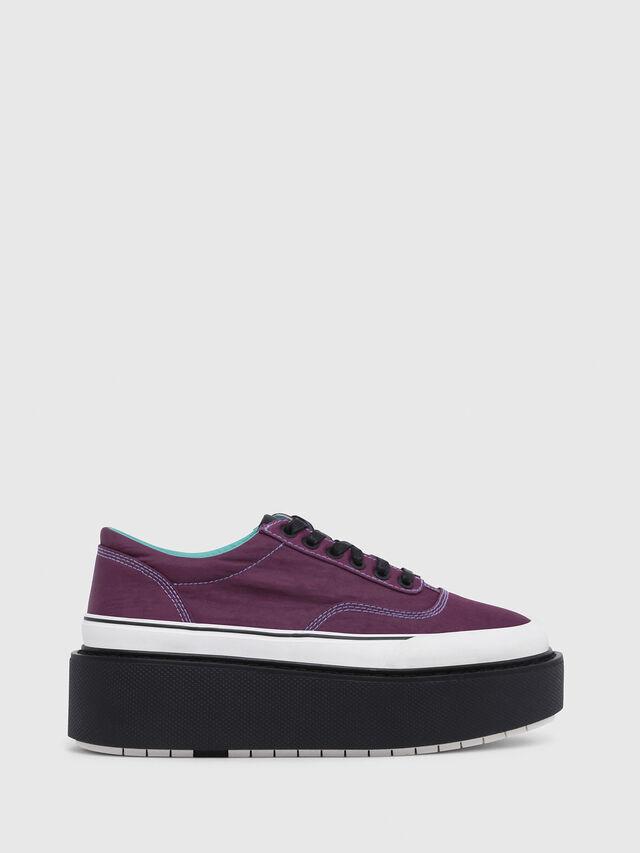 Diesel - H-SCIROCCO LOW, Dark Violet - Sneakers - Image 1
