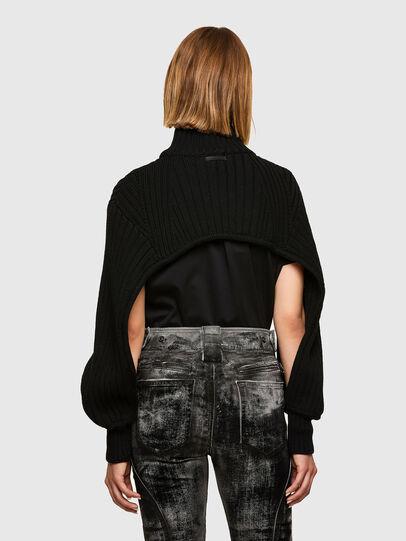 Diesel - M-BENAZIR, Black - Knitwear - Image 2