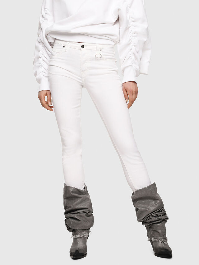 Diesel - Babhila 086AS, White - Jeans - Image 1