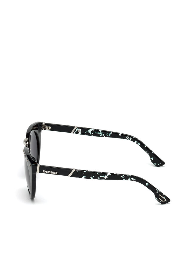 Diesel - DL0211, Black - Sunglasses - Image 3
