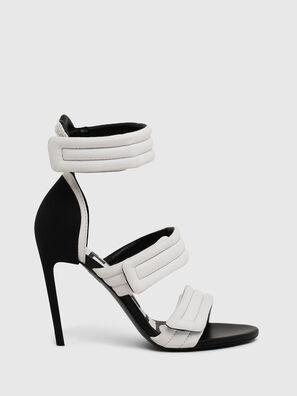 SA-SLANTY HST, White - Sandals