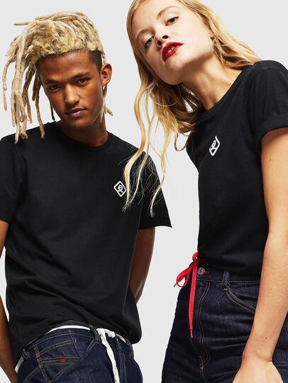 Diesel - CC-T-DIEGO-COLA, Black - T-Shirts - Image 6