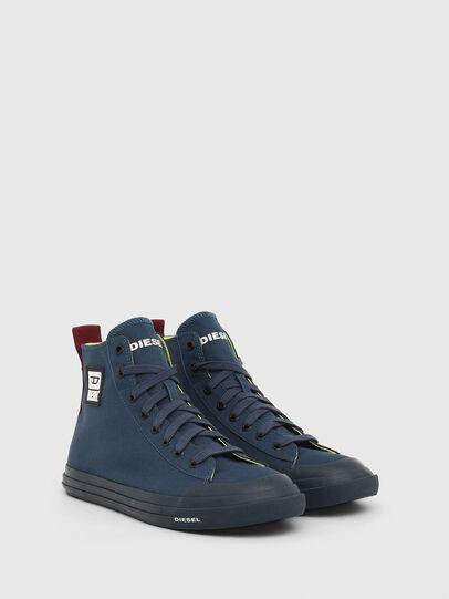 Diesel - S-ASTICO MID CUT, Navy Blue - Sneakers - Image 2