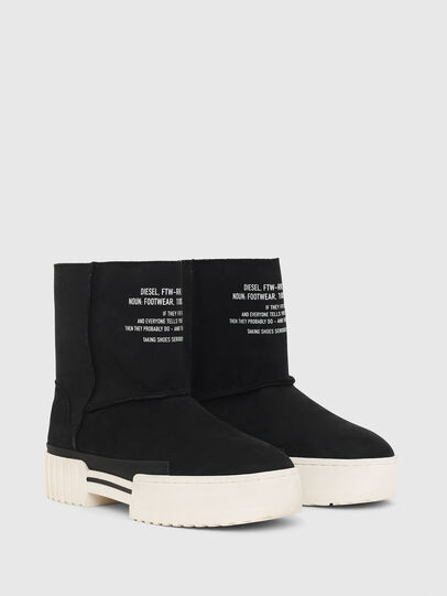 Diesel - H-MERLEY AB, Black - Ankle Boots - Image 2