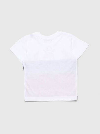 Diesel - TRICKYB, White/Red/Blu - T-shirts and Tops - Image 2