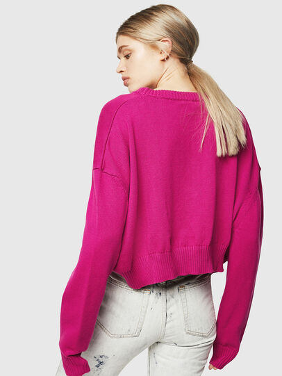 Diesel - M-LINDA, Pink Fluo - Knitwear - Image 2