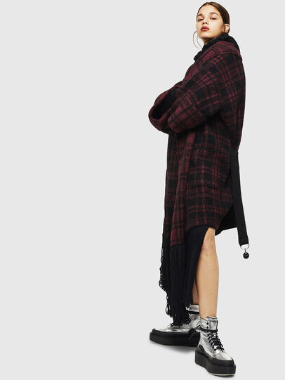 Diesel - M-BOU, Dark Violet - Knitwear - Image 5