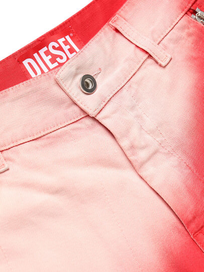 Diesel - GR02-P303, Red/White - Shorts - Image 4