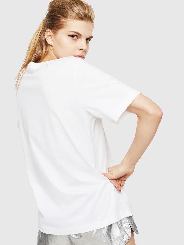 Diesel - T-JUST-Y17-FL, White - T-Shirts - Image 2