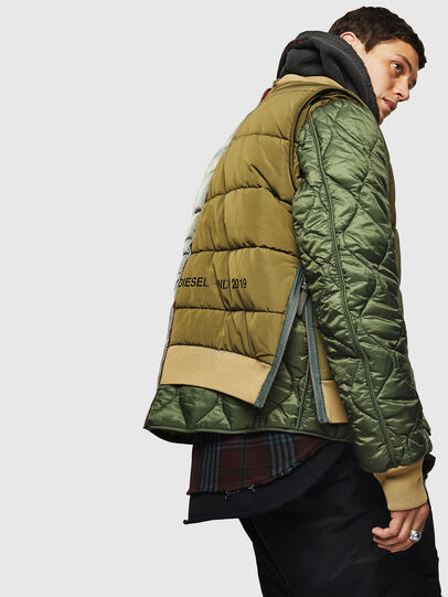 Diesel - W-KOSLOV, Military Green - Winter Jackets - Image 6