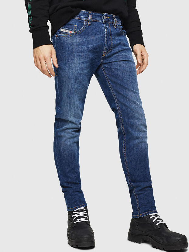 Thommer 082AZ, Dark Blue - Jeans