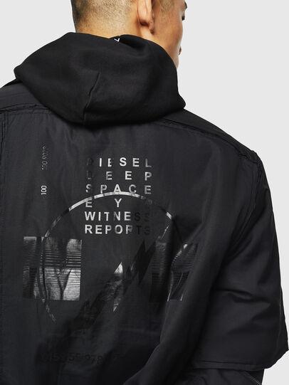 Diesel - J-CURTIS, Black - Jackets - Image 5