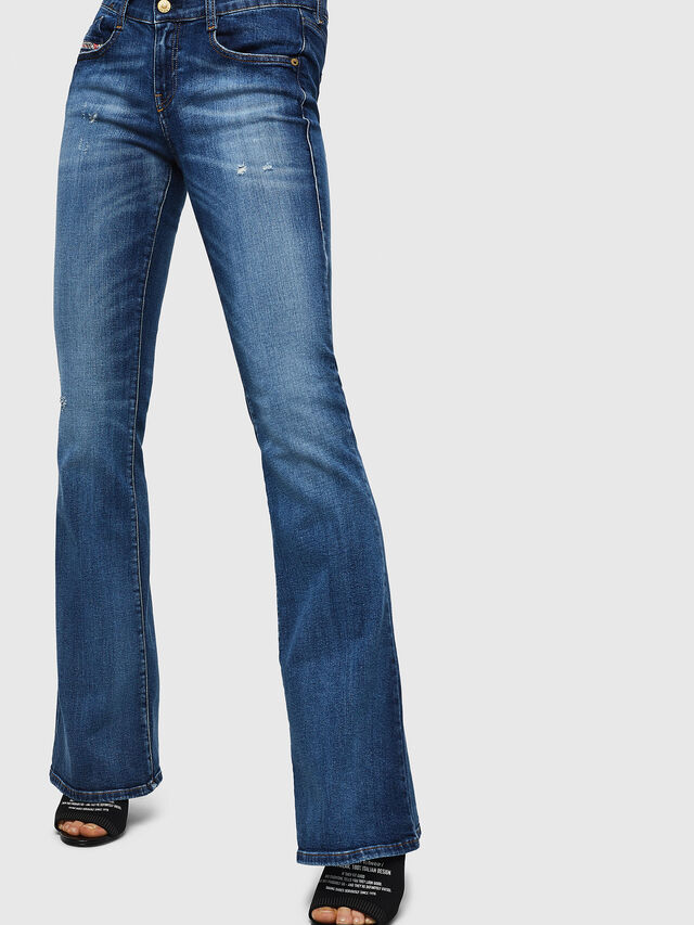 Diesel - D-Ebbey 069FY, Medium blue - Jeans - Image 3