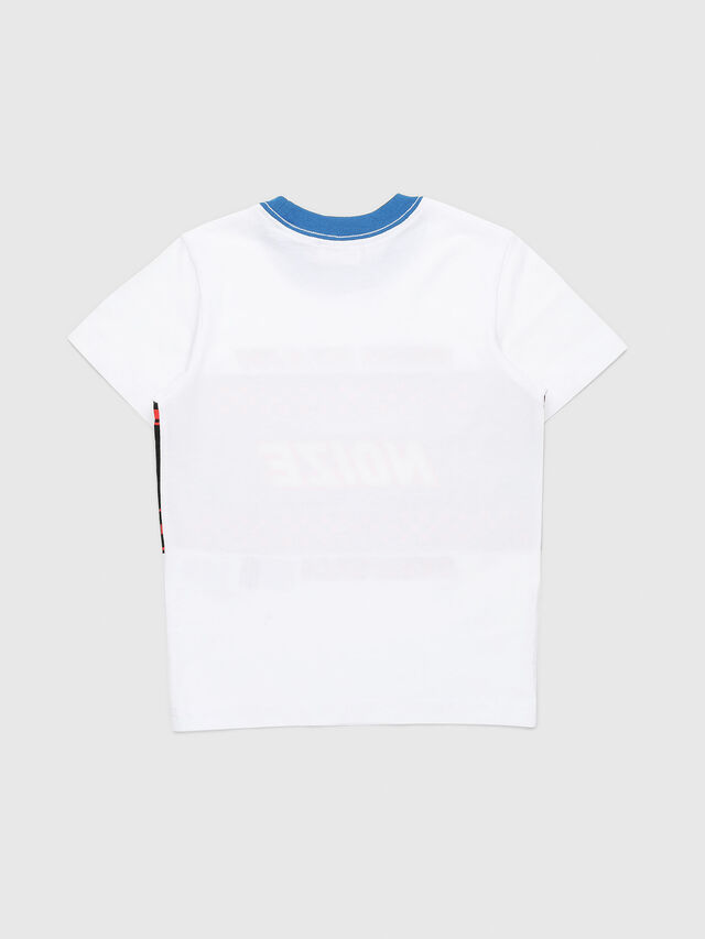 Diesel - TENDYB-R, White/Black - T-shirts and Tops - Image 2