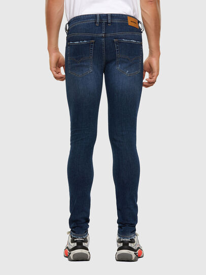 Diesel - Sleenker 009DK, Dark Blue - Jeans - Image 2