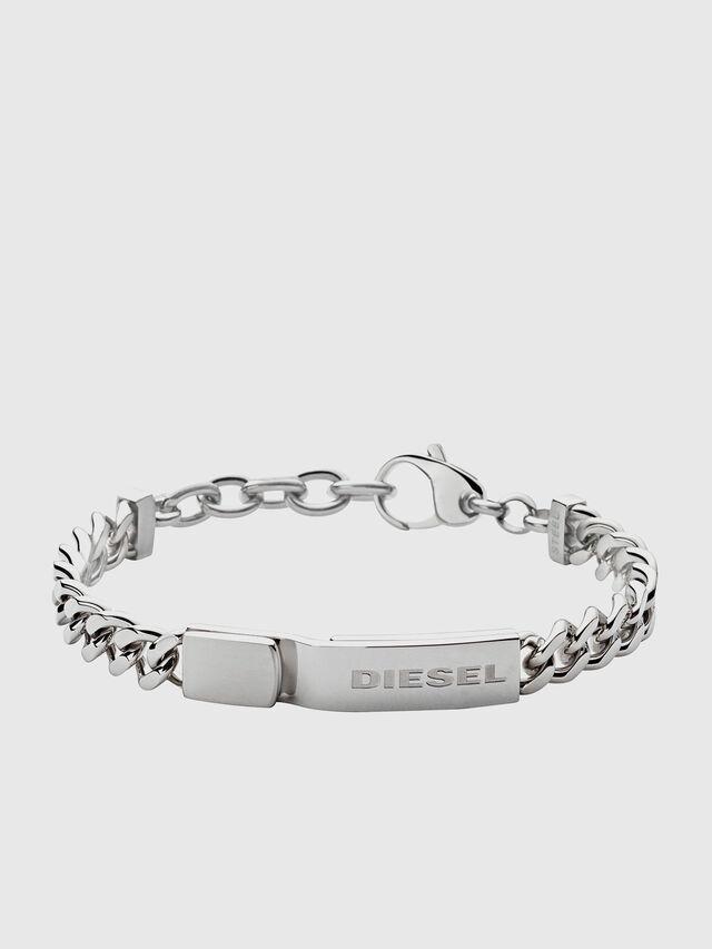 Diesel BRACELET DX0966, Silver - Bracelets - Image 1