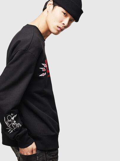 Diesel - CL-SNOR-LITMA, Black - Sweaters - Image 5