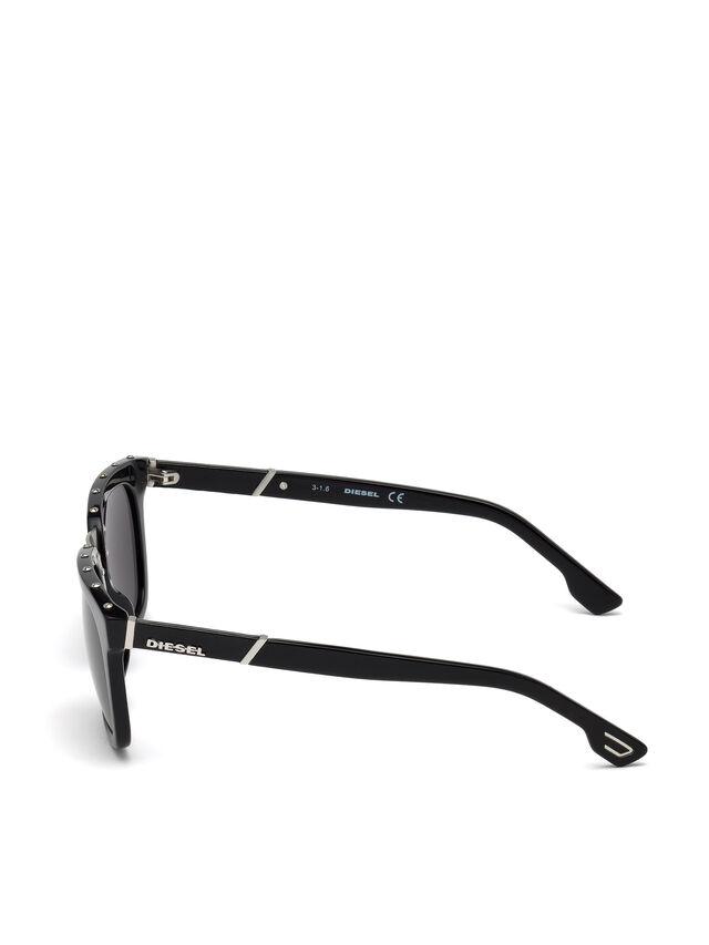Diesel - DL0212, Black - Sunglasses - Image 3