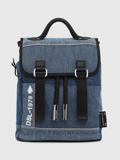 Diesel - DENIPACK, Blue Jeans - Backpacks - Image 1