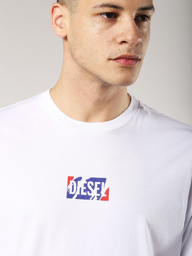 Diesel - T-JUST-ZC, White - T-Shirts - Image 5