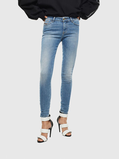 Diesel - Slandy 0095B, Light Blue - Jeans - Image 1
