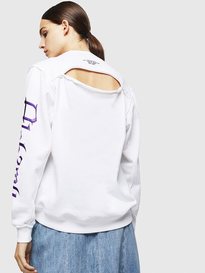 Diesel - F-LYANYDY-A, White - Sweaters - Image 2