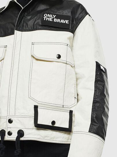 Diesel - J-KENDY, White/Black - Jackets - Image 3