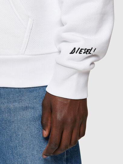 Diesel - S-GIRK-HOOD-B1, White - Sweaters - Image 3